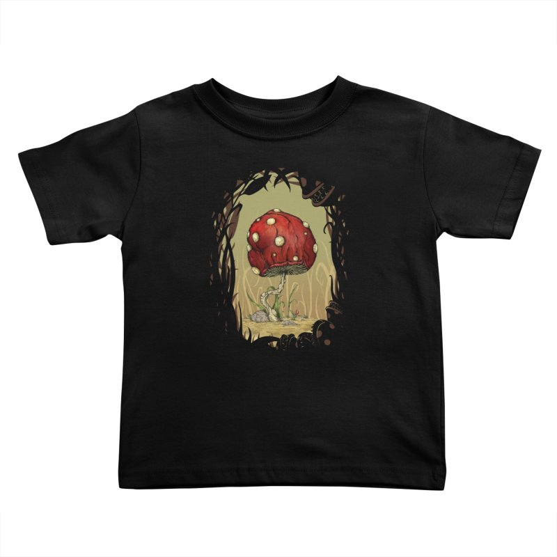 Grow Mario - Border Kids Toddler T-Shirt by Deep Space Designs