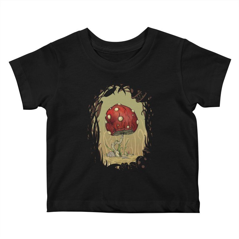 Grow Mario - Border Kids Baby T-Shirt by tristan's Artist Shop