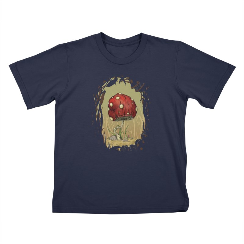 Grow Mario - Border Kids Toddler T-Shirt by Deep Space Designs