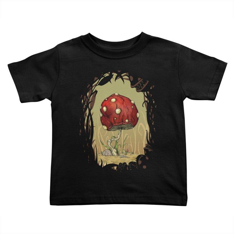Grow Mario - Border Kids Toddler T-Shirt by tristan's Artist Shop