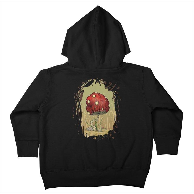 Grow Mario - Border Kids Toddler Zip-Up Hoody by tristan's Artist Shop