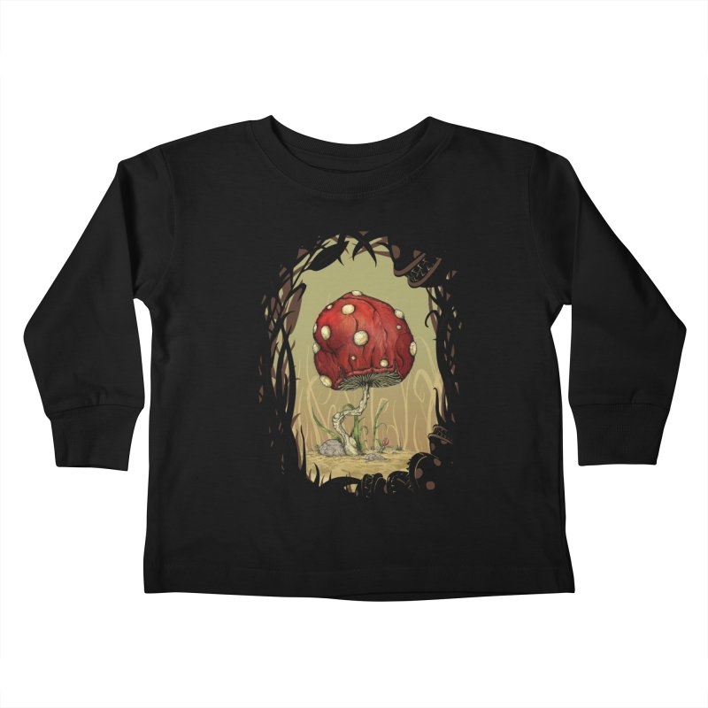 Grow Mario - Border Kids Toddler Longsleeve T-Shirt by Deep Space Designs