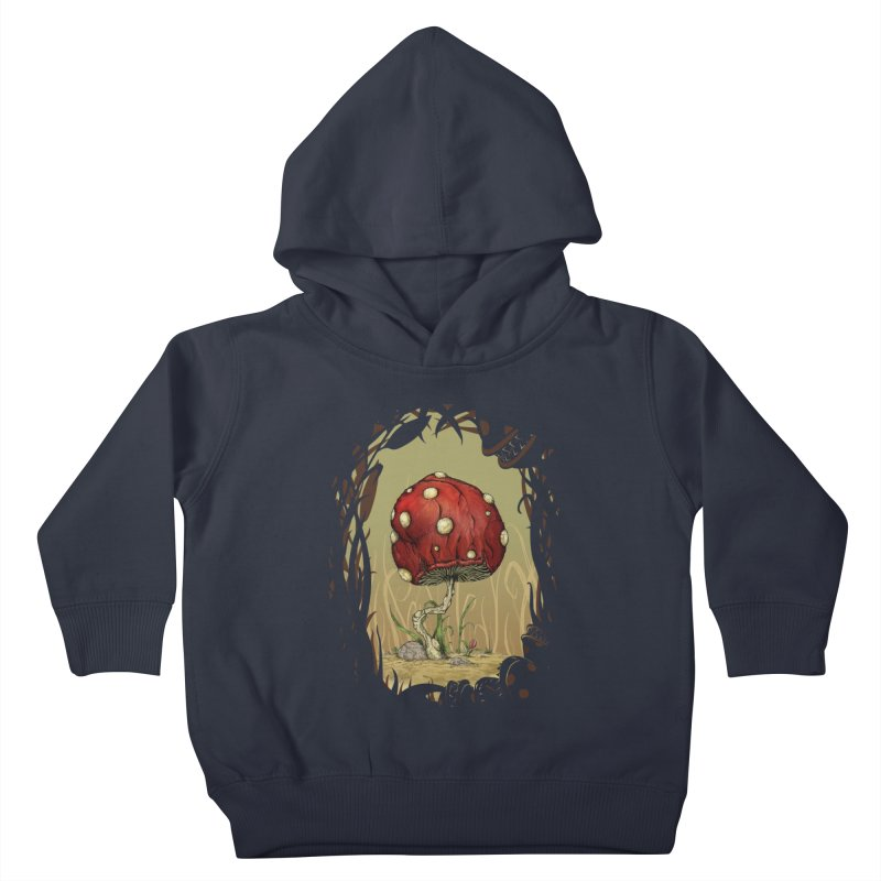 Grow Mario - Border Kids Toddler Pullover Hoody by tristan's Artist Shop