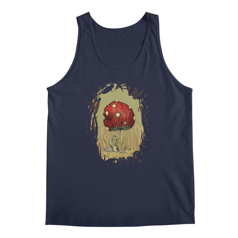 Grow Mario - Border Men's Tank by tristan's Artist Shop
