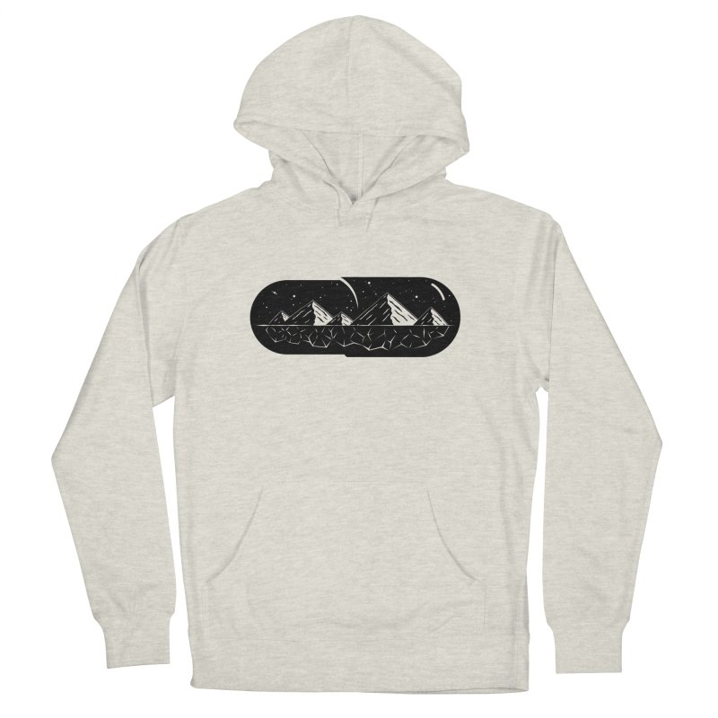 Chill Pill Men's Pullover Hoody by Deep Space Designs