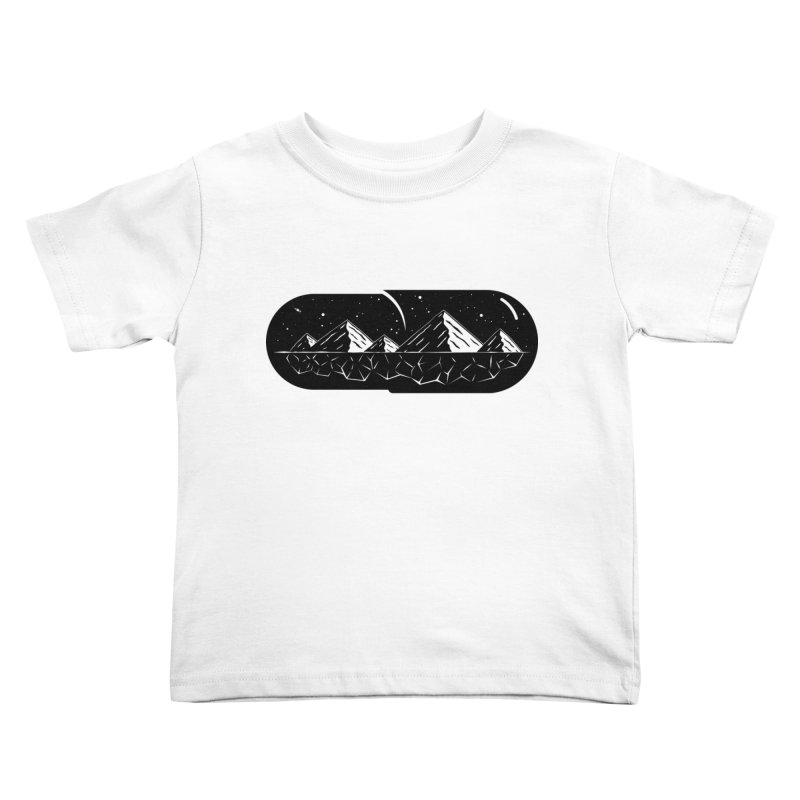 Chill Pill Kids Toddler T-Shirt by Deep Space Designs