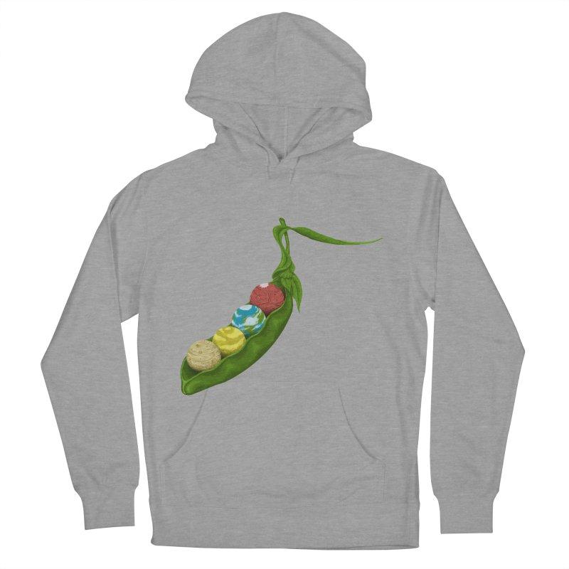 World Peas Women's Pullover Hoody by tristan's Artist Shop