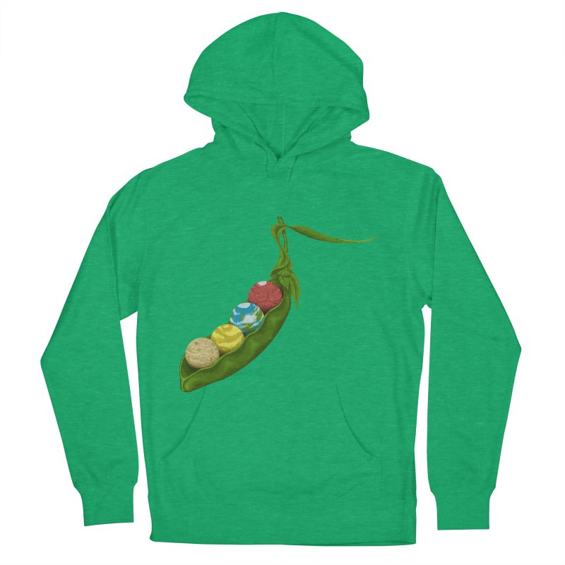 World Peas Men's Pullover Hoody by Deep Space Designs