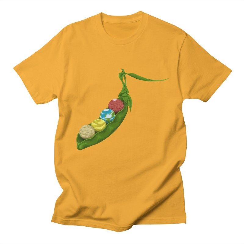 World Peas Men's T-shirt by tristan's Artist Shop