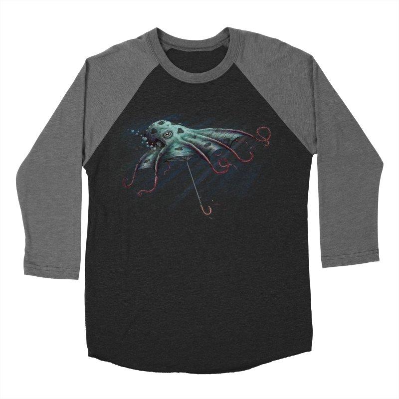 Umbrellapus Women's Baseball Triblend T-Shirt by Deep Space Designs