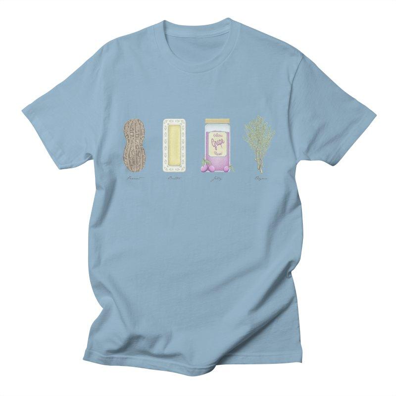 Peanut Butter Jelly Thyme Men's T-shirt by tristan's Artist Shop