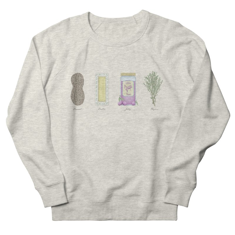 Peanut Butter Jelly Thyme Women's Sweatshirt by tristan's Artist Shop