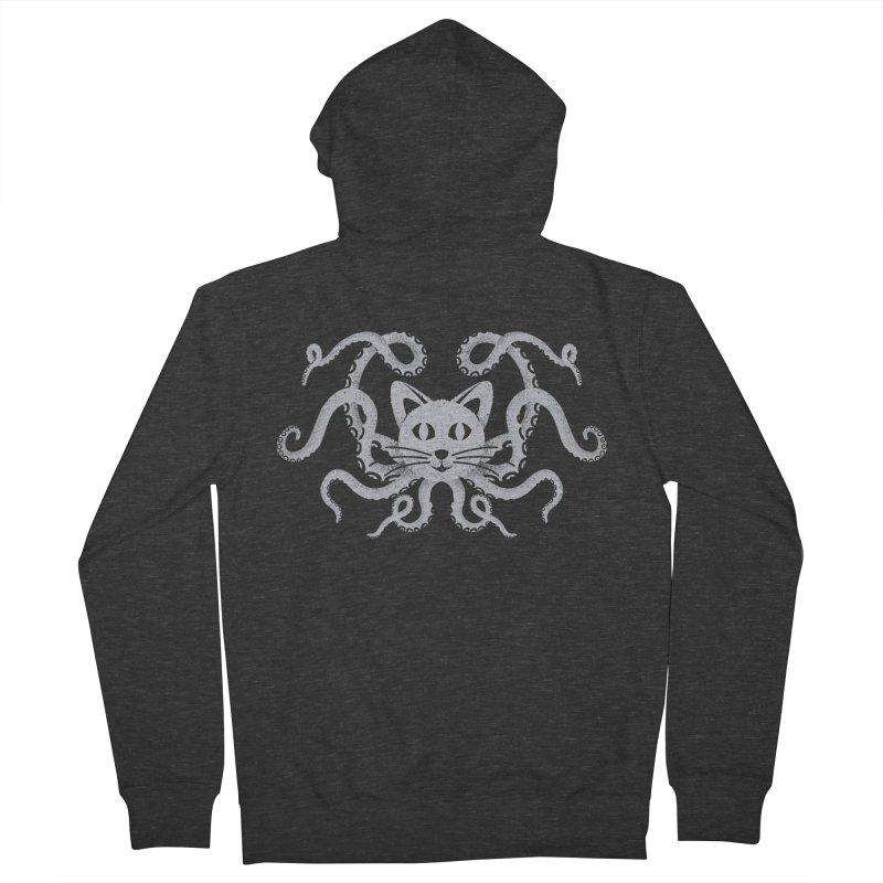 Octopuss Women's Zip-Up Hoody by tristan's Artist Shop