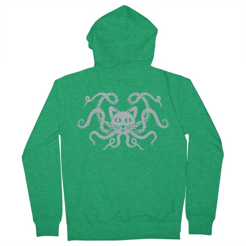 Octopuss Men's Zip-Up Hoody by tristan's Artist Shop