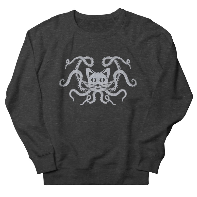 Octopuss Men's Sweatshirt by tristan's Artist Shop