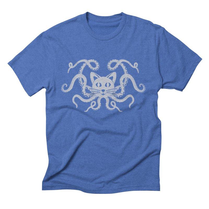 Octopuss Men's Triblend T-shirt by tristan's Artist Shop