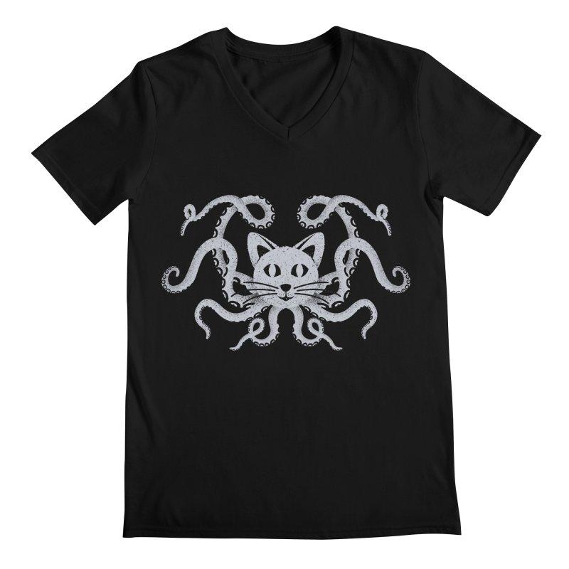 Octopuss Men's V-Neck by tristan's Artist Shop