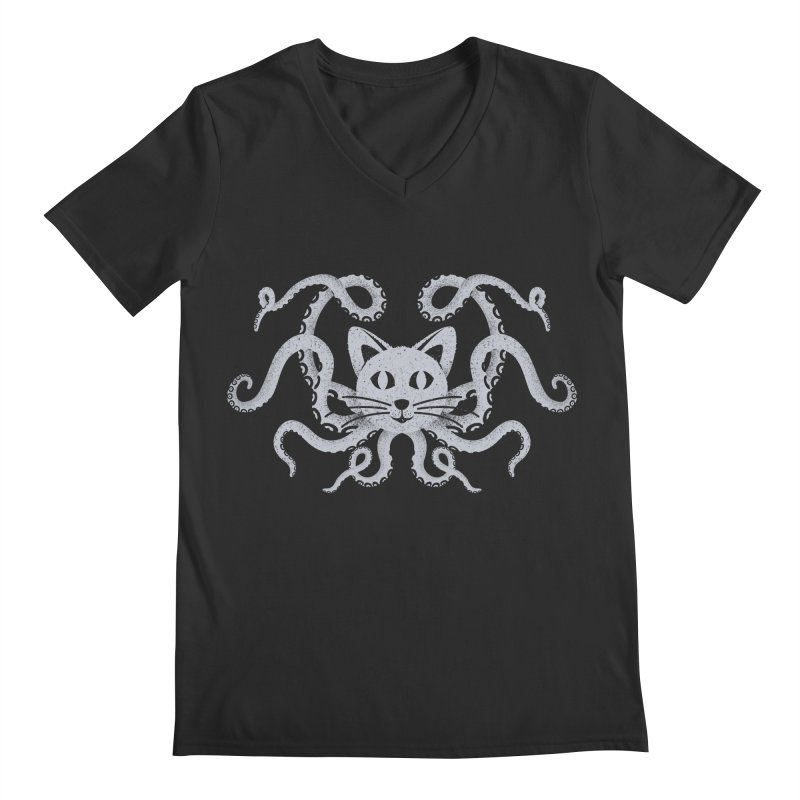 Octopuss Men's V-Neck by Deep Space Designs