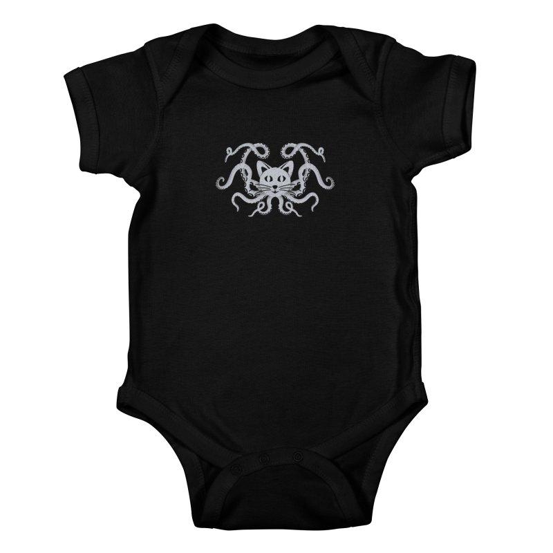 Octopuss Kids Baby Bodysuit by tristan's Artist Shop
