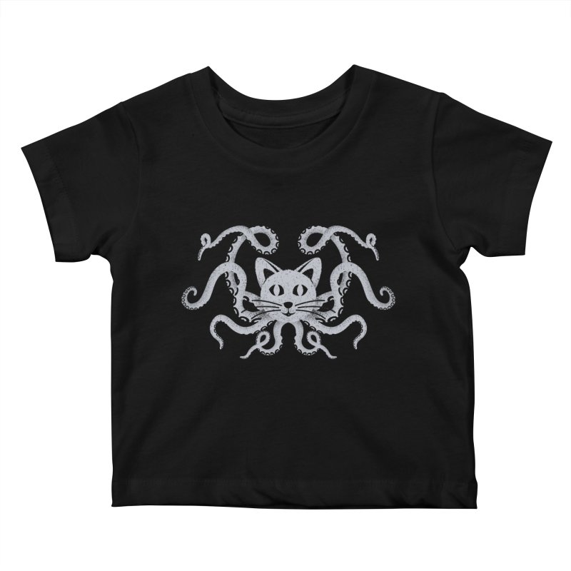 Octopuss Kids Baby T-Shirt by tristan's Artist Shop