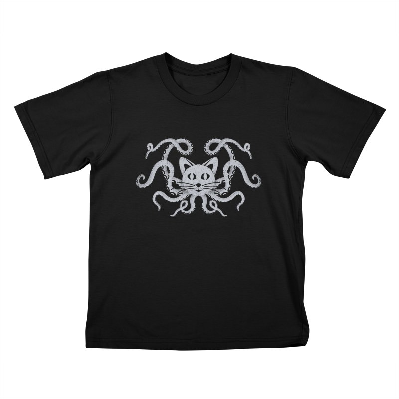 Octopuss Kids T-shirt by tristan's Artist Shop