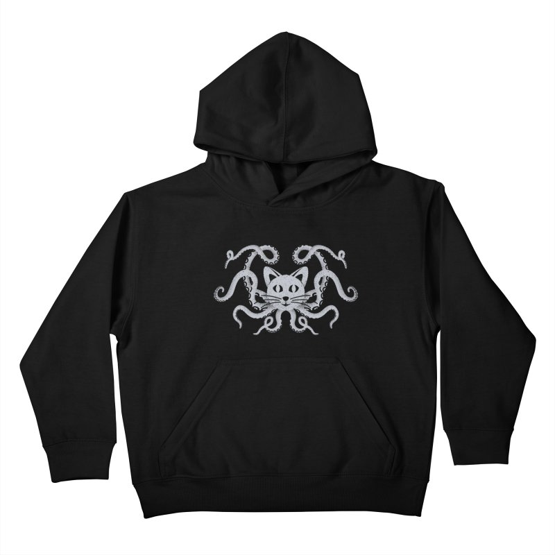 Octopuss Kids Pullover Hoody by tristan's Artist Shop