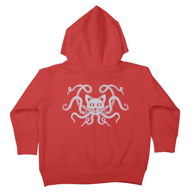 Octopuss Kids Toddler Zip-Up Hoody by tristan's Artist Shop