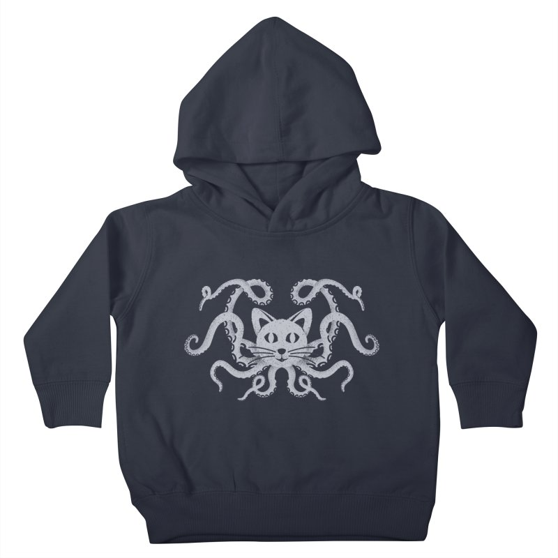 Octopuss Kids Toddler Pullover Hoody by Deep Space Designs
