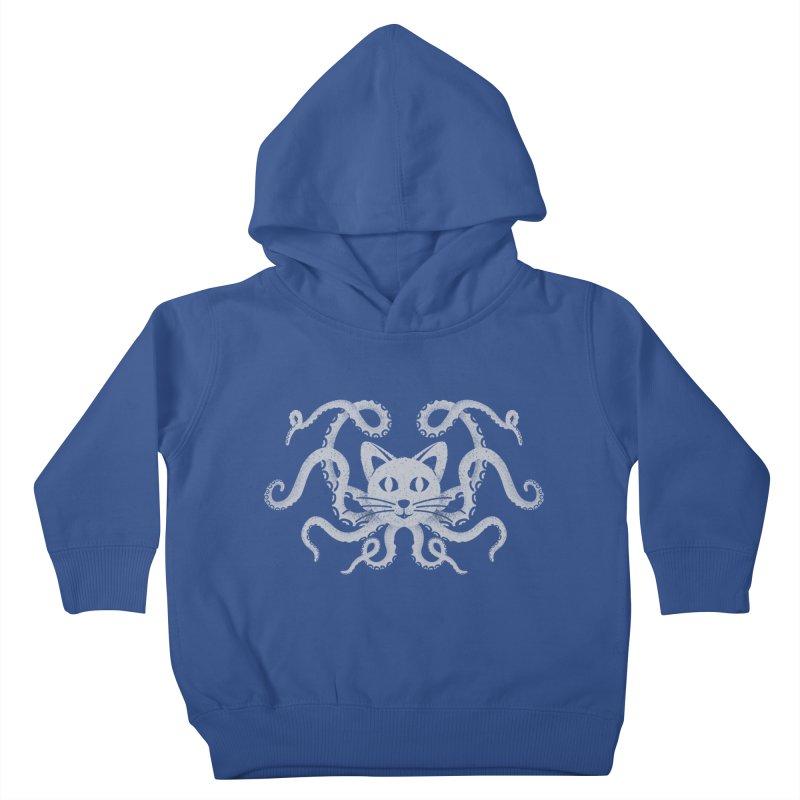 Octopuss Kids Toddler Pullover Hoody by tristan's Artist Shop
