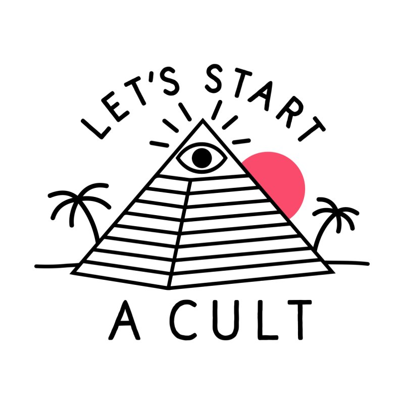 Let's Start a Cult Men's T-Shirt by troublemuffin's Artist Shop