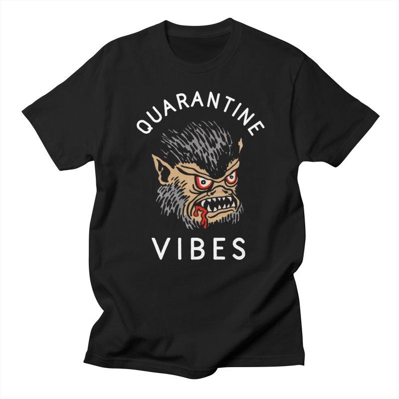 Quarantine Vibes Men's T-Shirt by troublemuffin's Artist Shop