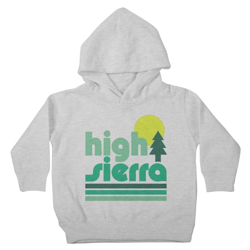 High Sierra Greenie Kids Toddler Pullover Hoody by troublemuffin's Artist Shop