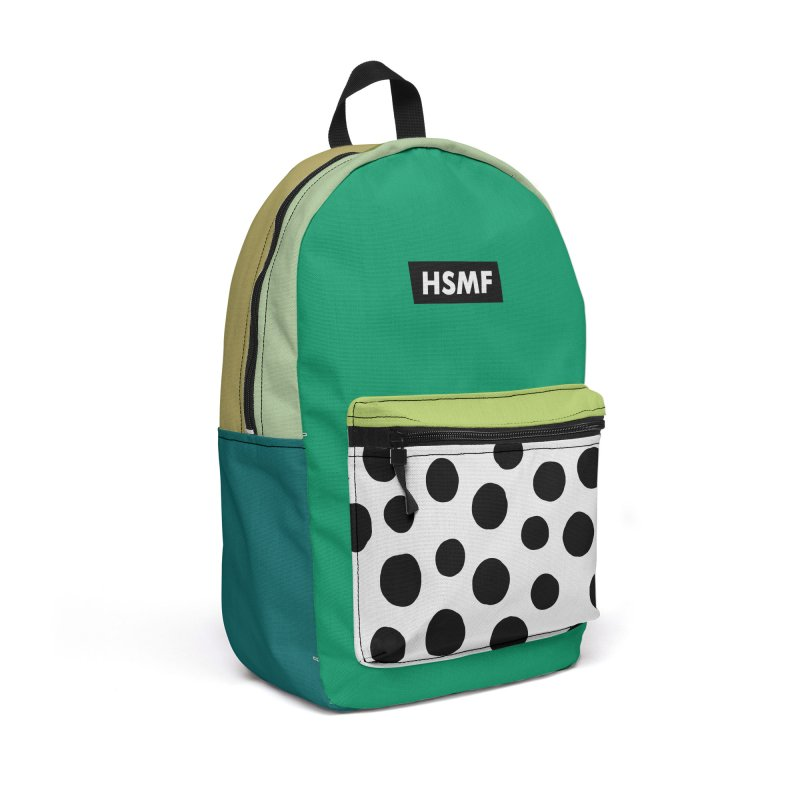 Green Backpack Accessories Bag by troublemuffin's Artist Shop