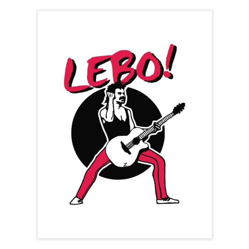 Lebo! Home Fine Art Print by troublemuffin's Artist Shop