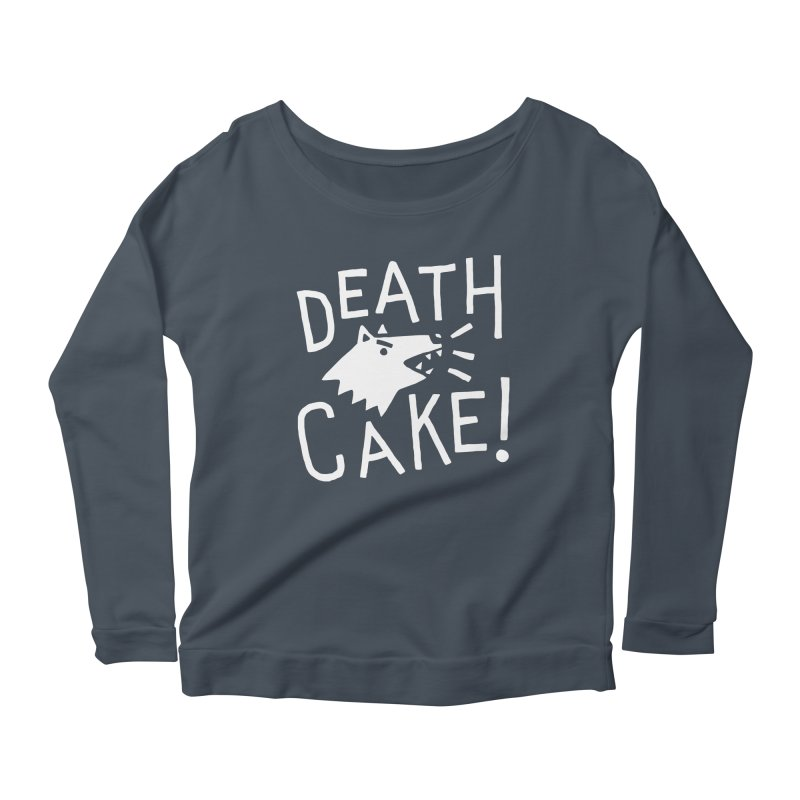 Death Cake! Women's Longsleeve T-Shirt by troublemuffin's Artist Shop
