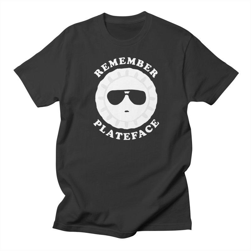 Remember Plateface Men's T-Shirt by troublemuffin's Artist Shop