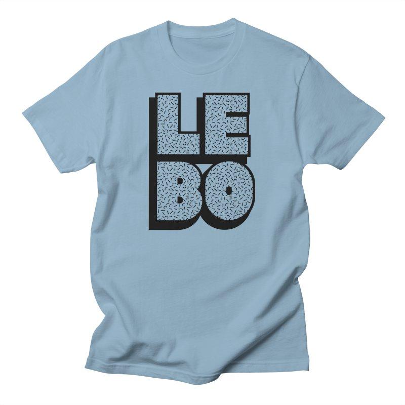 LEBO Blocky Men's T-Shirt by troublemuffin's Artist Shop