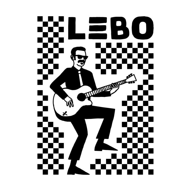 LEBO Checkerboard Men's T-Shirt by troublemuffin's Artist Shop