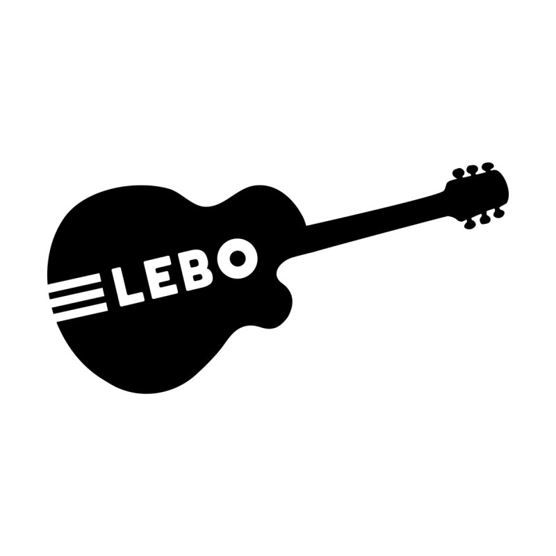 Lebo Guitar Men's T-Shirt by troublemuffin's Artist Shop