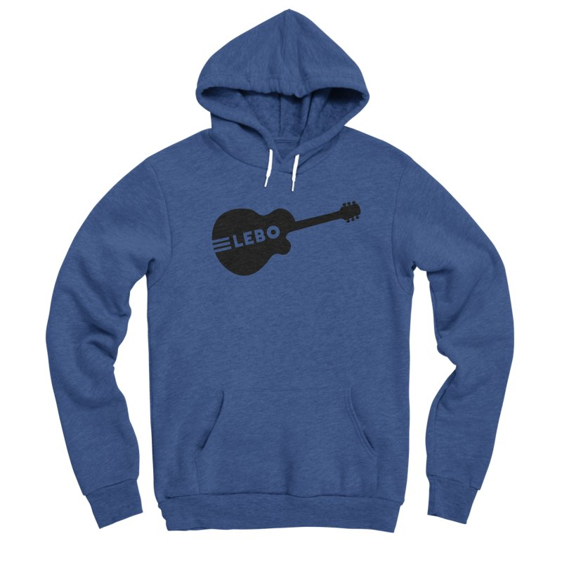 Lebo Guitar Men's Pullover Hoody by troublemuffin's Artist Shop