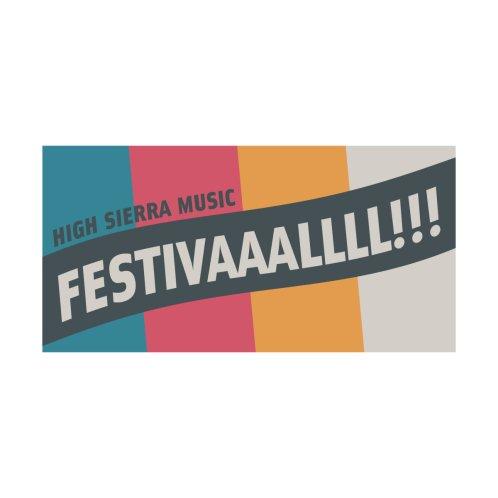 Design for FESTIVAALLL!! Beach Towel