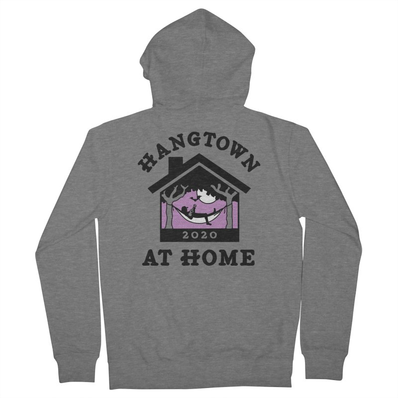 Hangtown at Home Men's Zip-Up Hoody by troublemuffin's Artist Shop