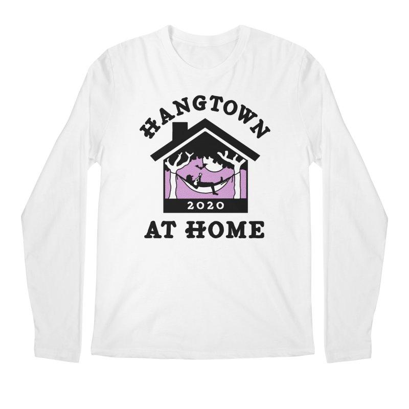 Hangtown at Home Men's Longsleeve T-Shirt by troublemuffin's Artist Shop
