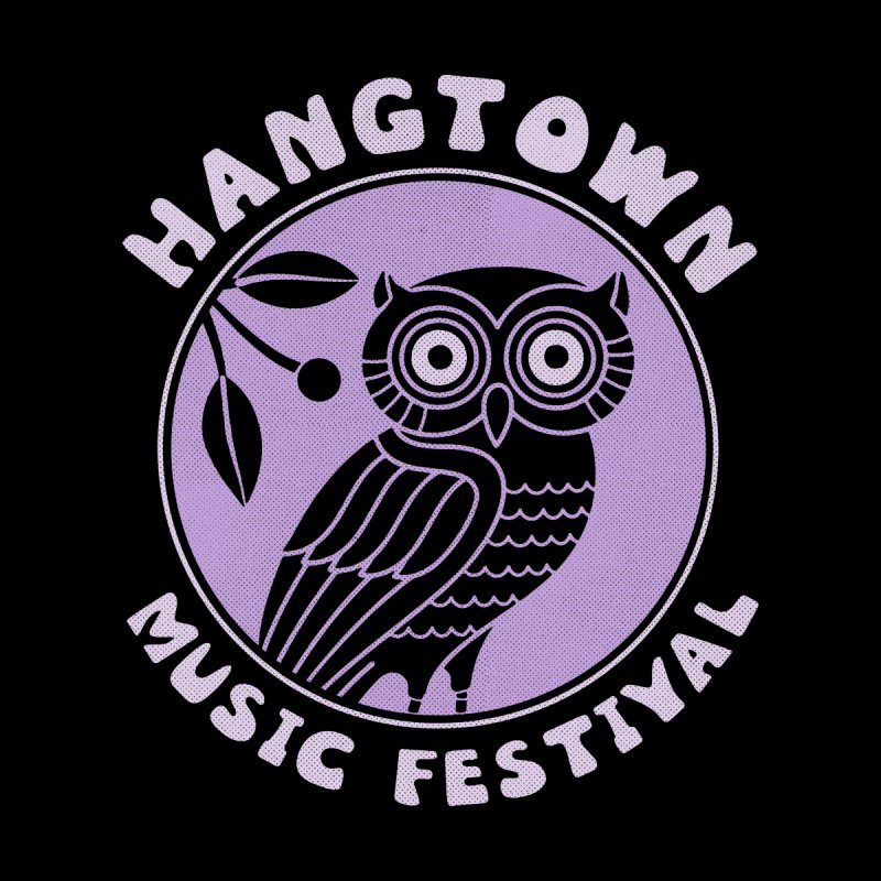 Hangtown Owl Men's T-Shirt by troublemuffin's Artist Shop