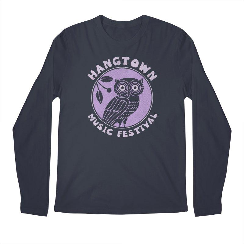 Hangtown Owl Men's Longsleeve T-Shirt by troublemuffin's Artist Shop