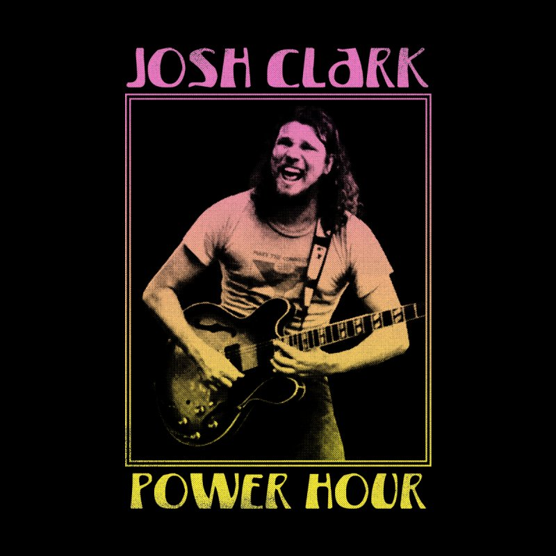 Josh Clark Power Hour Men's T-Shirt by troublemuffin's Artist Shop