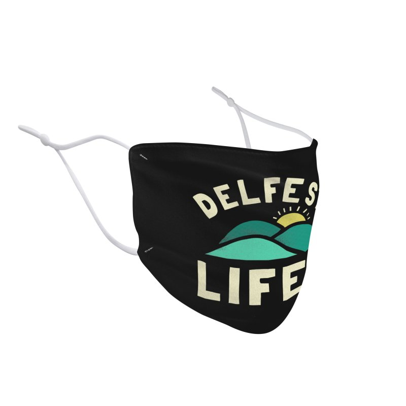 Delfest Lifer Accessories Face Mask by troublemuffin's Artist Shop