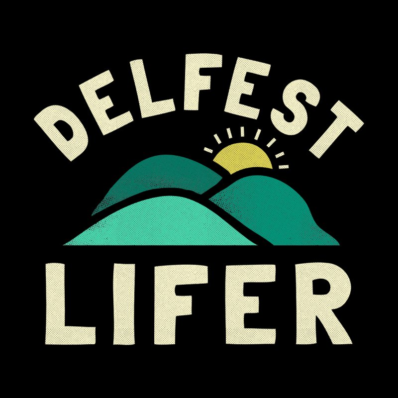Delfest Lifer Men's Longsleeve T-Shirt by troublemuffin's Artist Shop