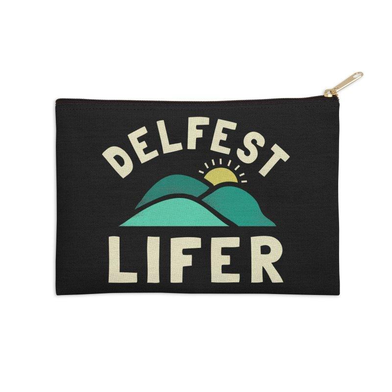 Delfest Lifer Accessories Zip Pouch by troublemuffin's Artist Shop
