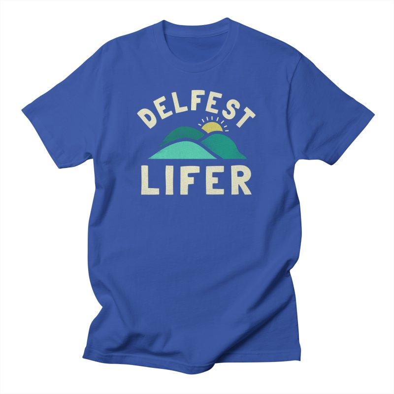 Delfest Lifer Men's T-Shirt by troublemuffin's Artist Shop